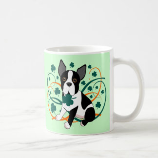 Shamrockin'  Terrier Coffee Mug