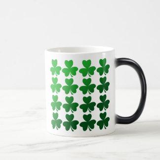 Shamrocks 11 Oz Magic Heat Color-Changing Coffee Mug