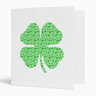 Shamrocks 4 leaf clovers png 3 ring binders