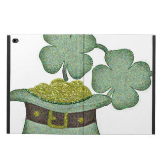 shamrocks and a hatful of gold for Saint Patricks Powis iPad Air 2 Case