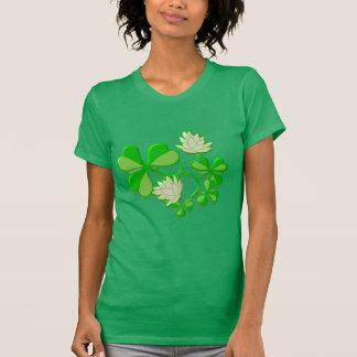 Shamrocks and Flowers T-Shirt