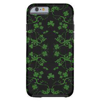Shamrocks and Swirls iPhone 6 case