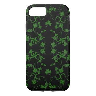 Shamrocks and Swirls iPhone 7 case