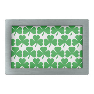 SHAMROCKS! BELT BUCKLE