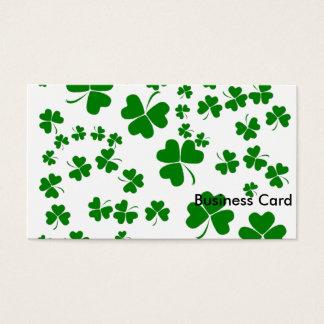 Shamrocks Business Card