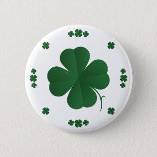Shamrocks Button