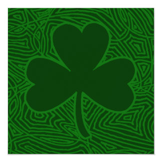 Shamrocks Card