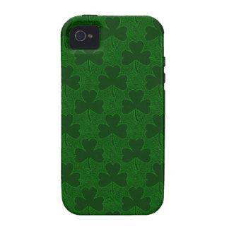 Shamrocks Vibe iPhone 4 Cover