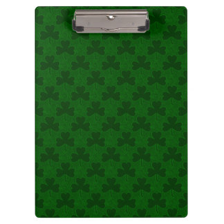 Shamrocks Clipboard