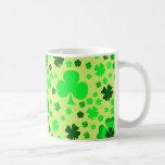 Shamrocks & Clovers Coffee Mugs