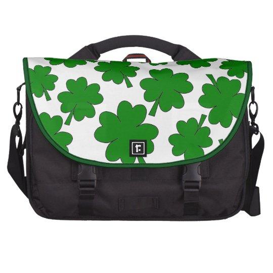 Shamrocks Commuter Bag