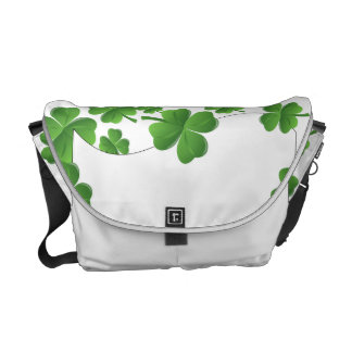 Shamrocks Courier Bag