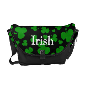 shamrocks courier bag