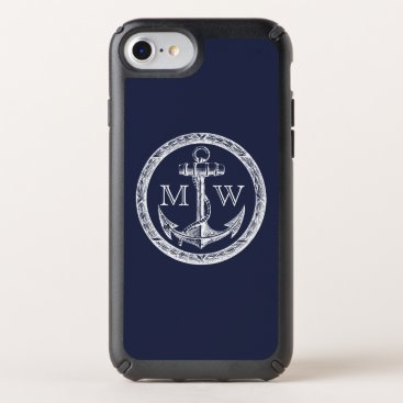 Shamrocks Customizable Monogram Speck iPhone Case