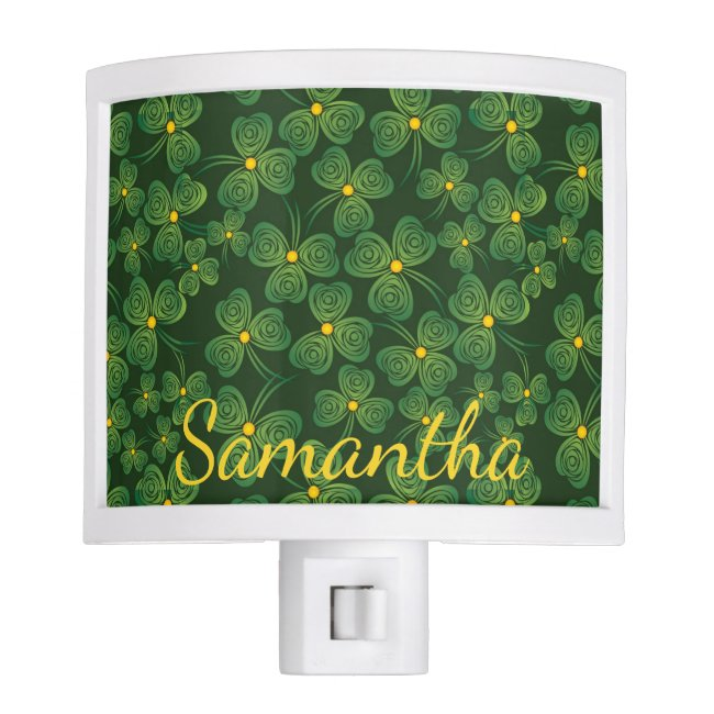 Shamrocks Design Nightlight