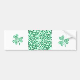 Shamrocks for St Patrick's Day Bumper Sticker