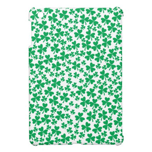 Shamrocks for St Patrick's Day Case For The iPad Mini