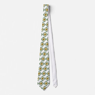 Shamrocks - Gold Irish Celtic (REVISED) Tie