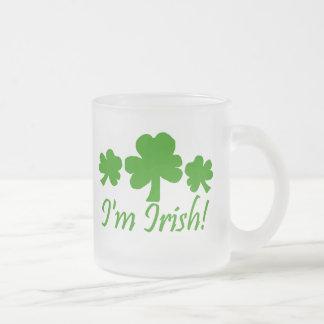 Shamrocks I'm Irish Mug