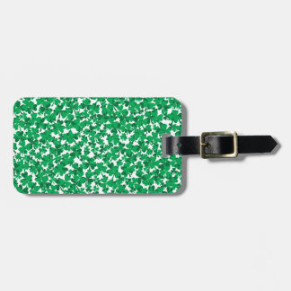 shamrocks, Ireland, Irish, proud to be Irish Luggage Tag