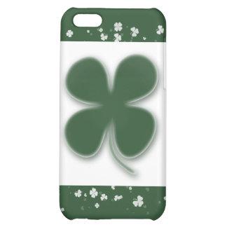 Shamrocks Irelands lucky clovers iPhone 5C Cover