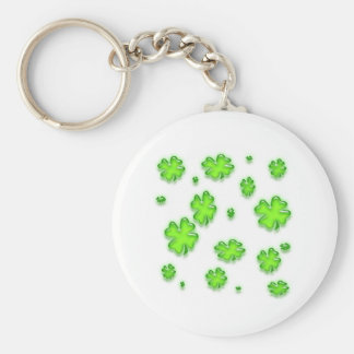 SHAMROCKS KEYCHAIN
