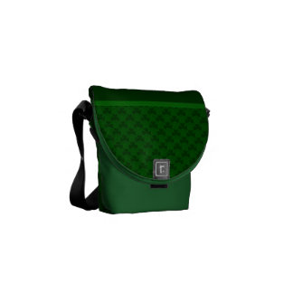 Shamrocks Messenger Bag