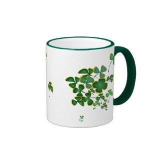 shamrocks coffee mugs