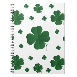 Shamrocks - multi notebook