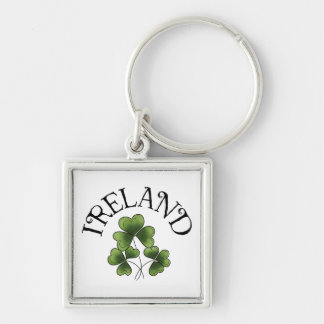 Shamrocks Of Ireland Keychain