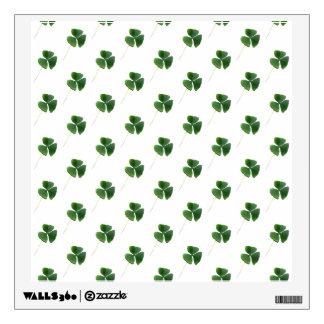 Shamrocks Pattern Wall Sticker