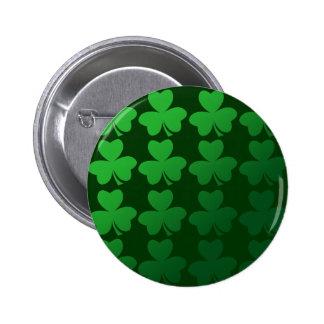 Shamrocks Pinback Button