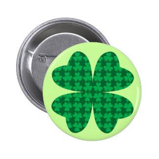 Shamrocks Pinback Buttons