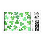 Shamrocks Postage Stamps