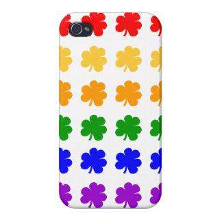 Shamrocks Rainbow iPhone4 Case