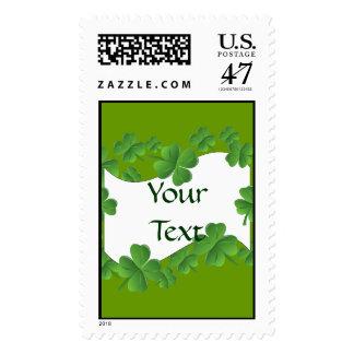Shamrocks Stamp