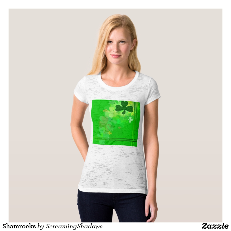 Shamrocks T-Shirt - Best Selling Long-Sleeve Street Fashion Shirt Designs