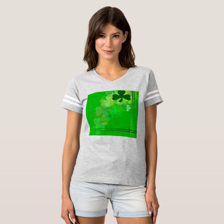 Shamrocks T-shirt - Best Selling Long-Sleeve Street Fashion Shirt Designs