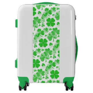 Shamrocks Tattoo seamless pattern + your ideas Luggage