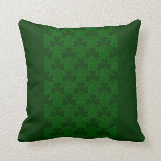 Shamrocks Throw Pillow