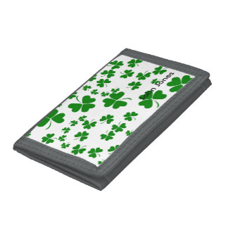 Shamrocks Tri-fold Wallet
