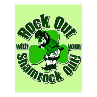 Shamrockz Brand Irish Tees Postcard