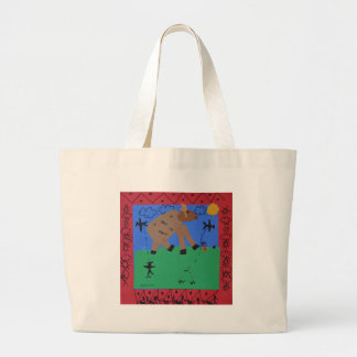 Shamus Moose Large Tote Bag
