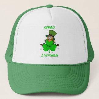 Shamus the Leprechaun Trucker Hat