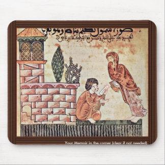 """Shana"""" """"L Bayader entrega una letra de Riad, Mouse Pad"""