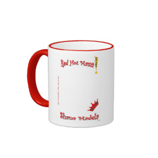 Shana Madela/Red Hot Mama! Ringer Coffee Mug