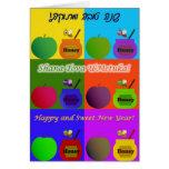 Shana Tova - estilo lindo del arte pop de Apple, d Felicitacion