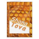 Shana-Tova Honey drawing Happy Rosh HaShana Greeting Card