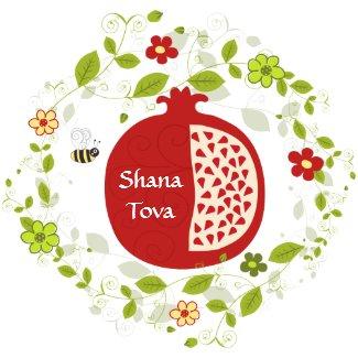 Shana Tova Sticker sticker