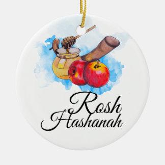 Shana Tufa/Rosh Hashanah Ceramic Ornament